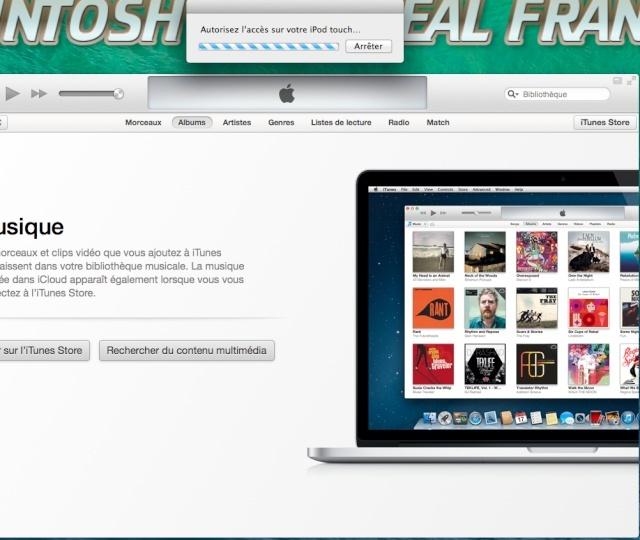 Blocage système a la syncro de mon ipad air avec iTunes  158