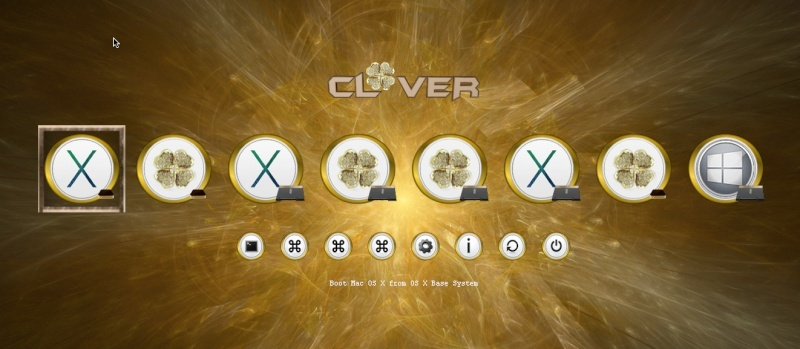 Theme Gold_clover Scree104