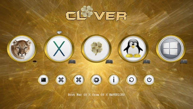 Theme Gold_clover Scree128