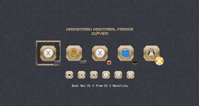 Theme Gold_clover Screen40
