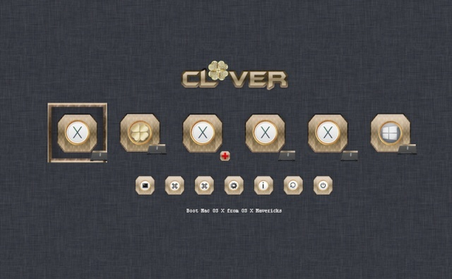 Theme Gold_clover Screen52