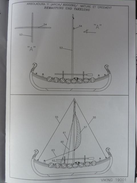 Le Viking de Artesania Latina au1/75° Drakka13