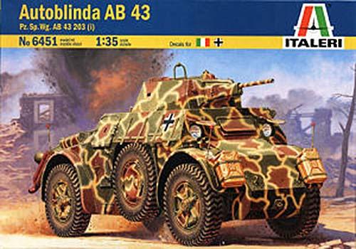 """AUTOBLINDA AB43 [ITALERI] 1/35 - """"Adieu Camarade !"""" Fallschirmjäger, Italie, 1943 Italer10"""