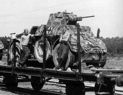 """AUTOBLINDA AB43 [ITALERI] 1/35 - """"Adieu Camarade !"""" Fallschirmjäger, Italie, 1943 Italia10"""
