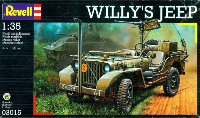 Jeep Willys en 3 versions Revell10