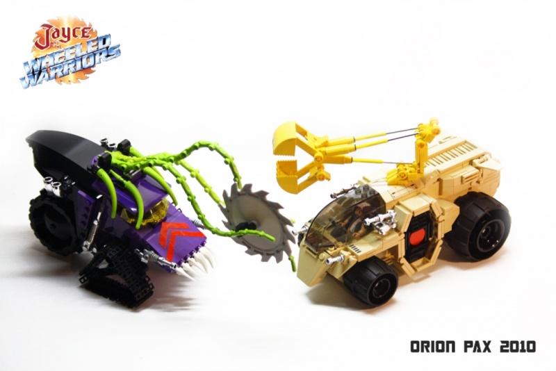 [LEGO] Créations d'oeuvres célèbres - Page 15 Armed_10