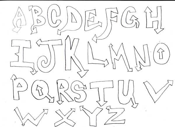 Assignment 12: Graffiti Alphabet due Oct 22 Abcsss10