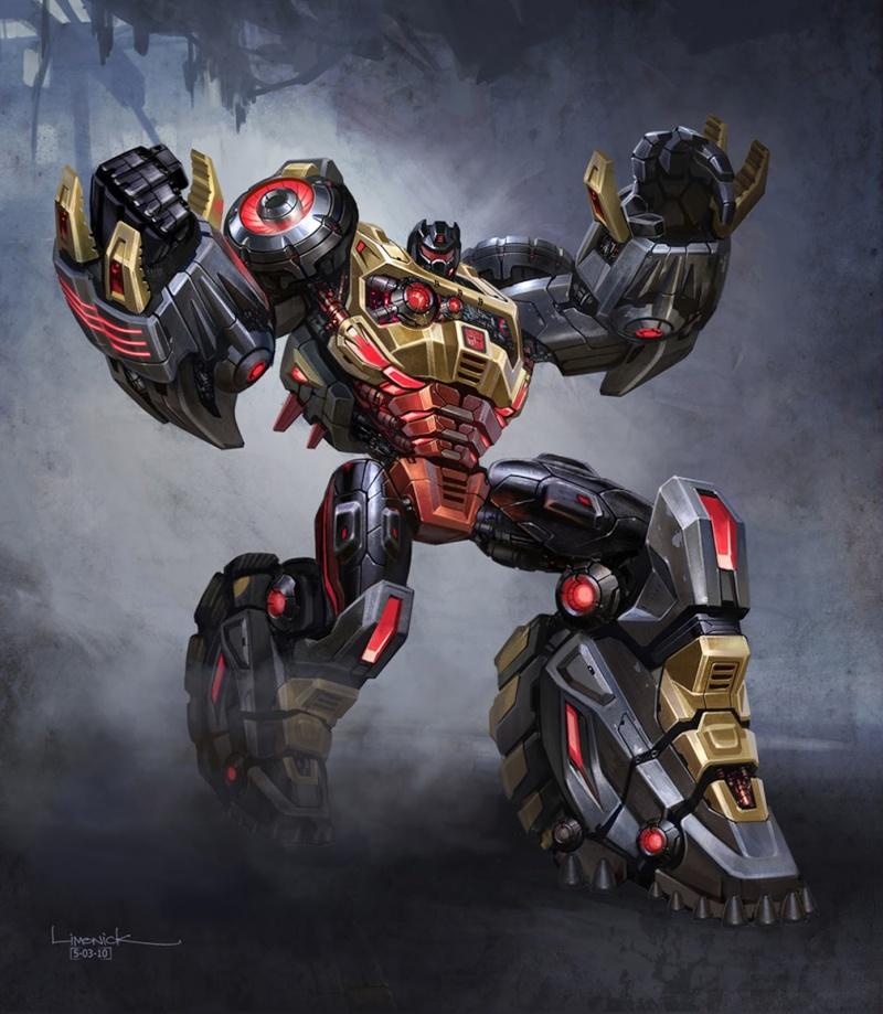 [Fanfic] - Spider-Man: Retour vers le passé | Transformers G1 Rebooted - Page 2 Grimlo11