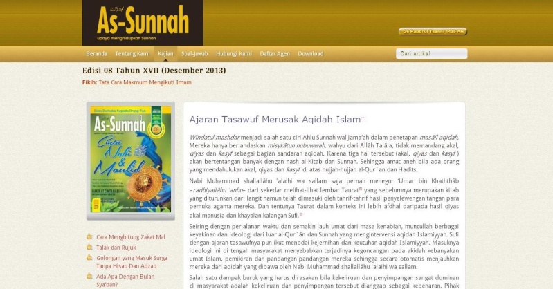 Sufisme vs Anti Sufisme H11