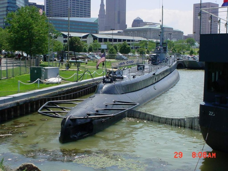 225 USS CERO (sous marin US classe Gato) 1/72° 112