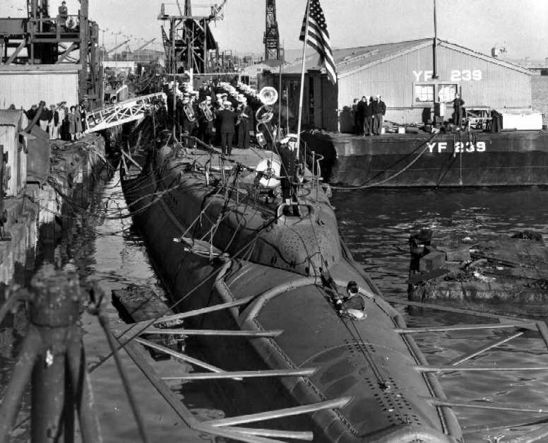 225 USS CERO (sous marin US classe Gato) 1/72° 211