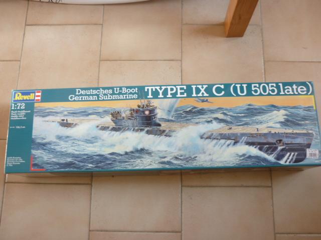 U-boote type IX-C au 1/72 de chez revell P1050919