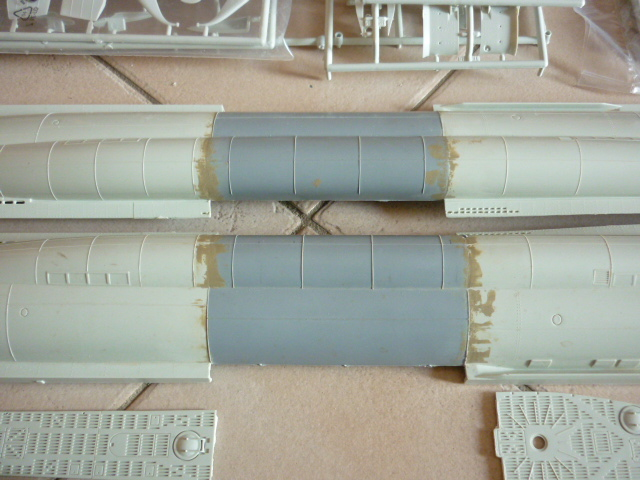U-boote type VIID au 1/72 (U218) P1060414