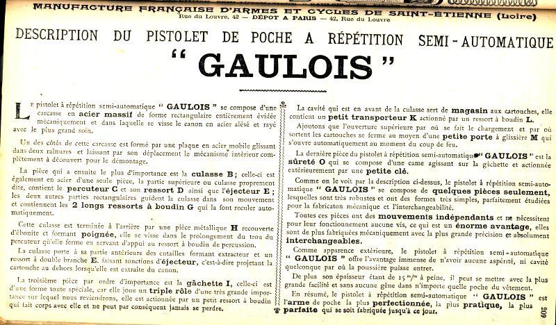 il n'y a pas que le reglo en collection.....il y a la manu Gauloi11