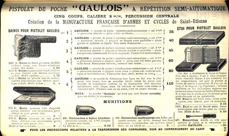 il n'y a pas que le reglo en collection.....il y a la manu Gauloi15