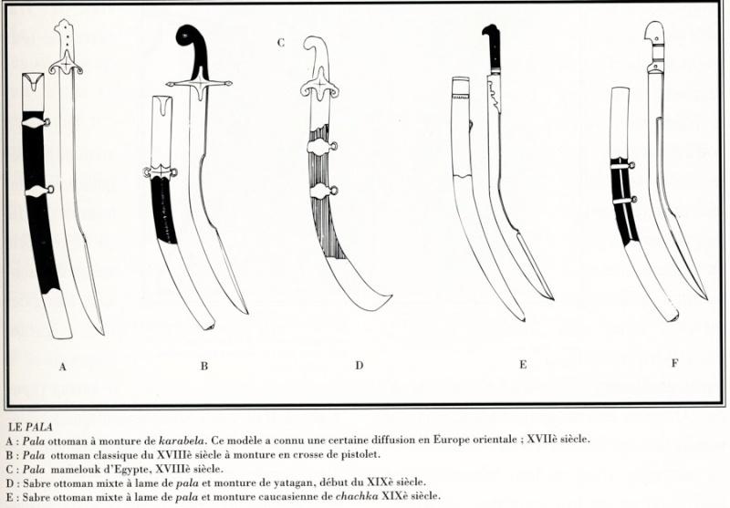 Recherche sources documentaires sabres ottomans période 1e Empire et XIXe siècle Pala_p10