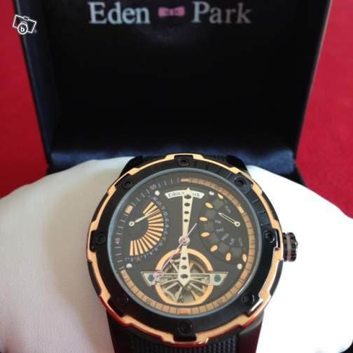 Probème montre Eden Park Black Time automatique Ep110