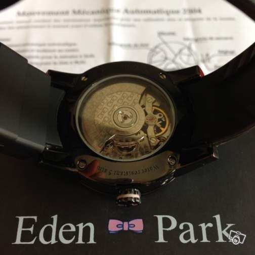 Probème montre Eden Park Black Time automatique Ep210