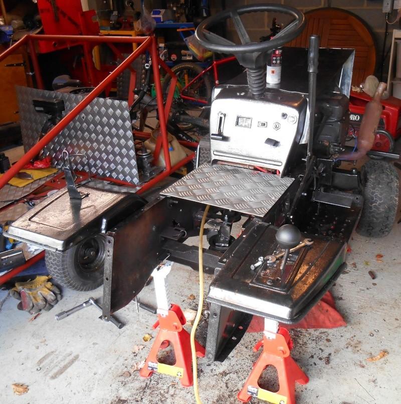 All terrain mudding mower transaxle fix and new paint job Dscn0015