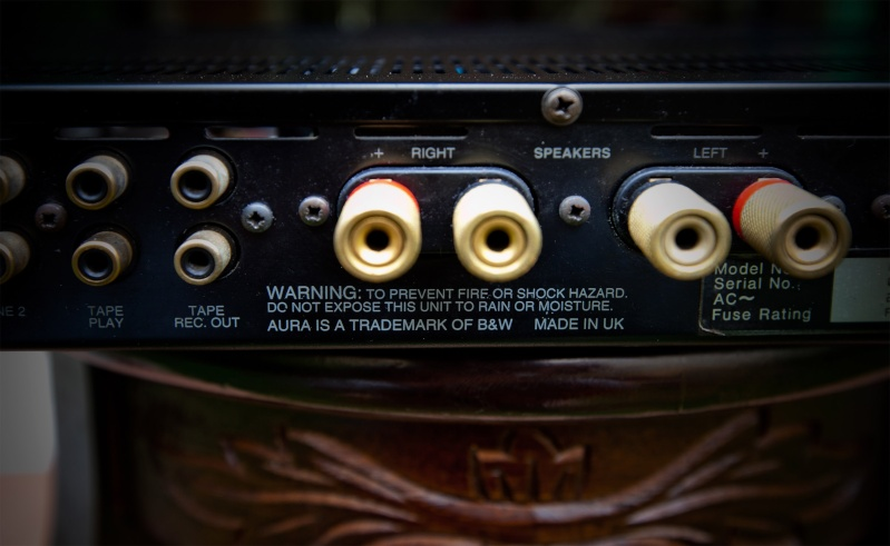 Amplifier Aura Evolution VA100 made by B&W England SOLD _mg_9711