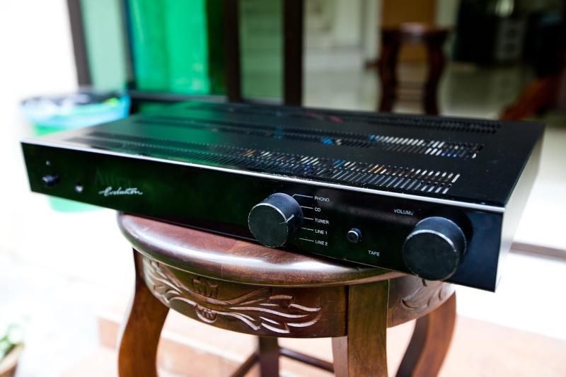 Amplifier Aura Evolution VA100 made by B&W England SOLD _mg_9810