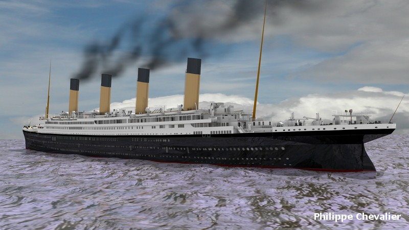 Titanic sous Blender - 21PhilC1 0110