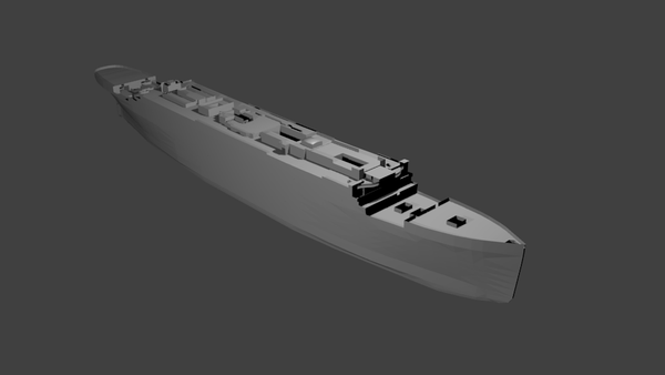 Titanic sous Blender - 21PhilC1 03710