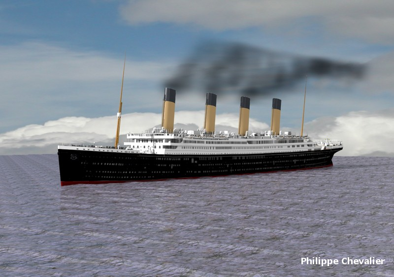 Titanic sous Blender - 21PhilC1 0410