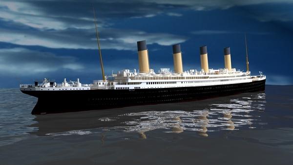 Titanic sous Blender - 21PhilC1 Ship10