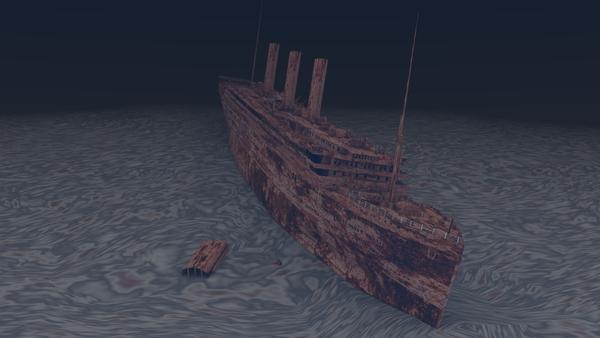 Titanic sous Blender - 21PhilC1 Ship11