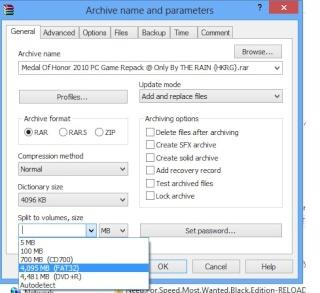 [HELP] Burn 7G game File Winrar10
