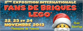 [Expo] BIONIFIGS à Fans de Briques les 22, 23 & 24 novembre à Talence (33) Talenc10