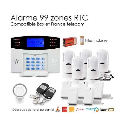 une alarme E60ee810