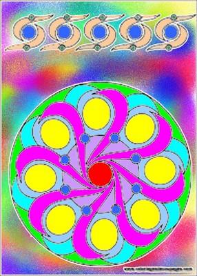 les ptites créas de lilie - Page 5 Mandal14