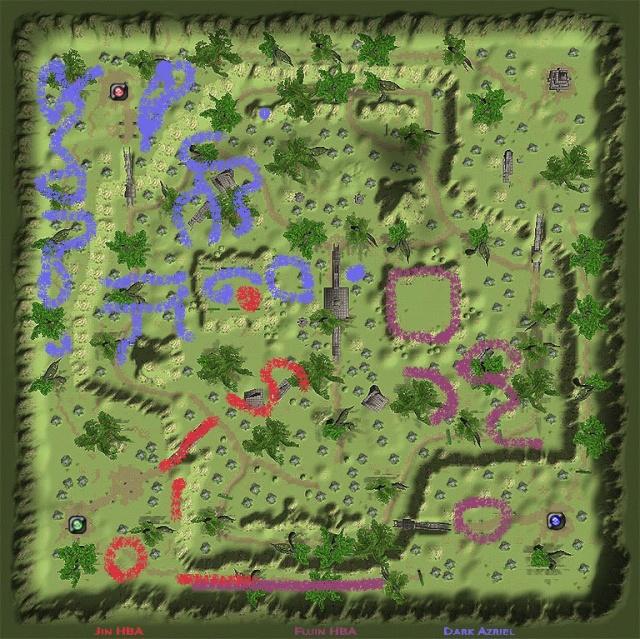 Guanyin Maps 지도 Chonsa10