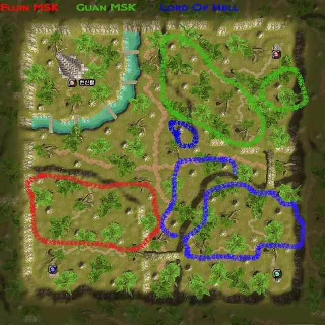 Guanyin Maps 지도 Hancho10