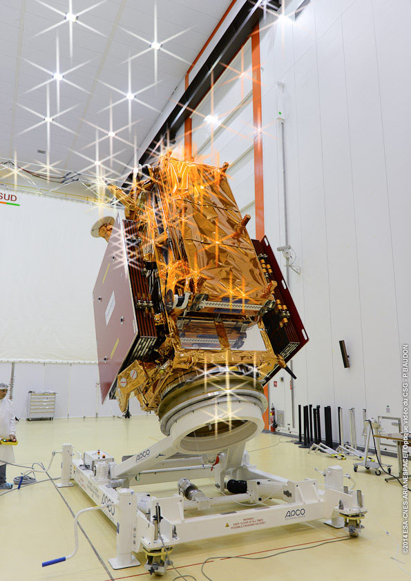 Soyouz-ST-A VS07 (Sentinel-1A) - 03.04.2014 1135-210