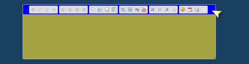 Changer la couleur de fond de l'éditeur via le PA Barre-10