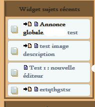 Widget derniers sujets d'un sous-forum isolé Widget11