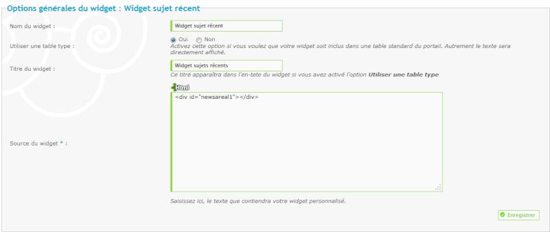 Widget derniers sujets d'un sous-forum isolé Widget12