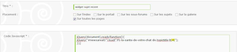 Widget derniers sujets d'un sous-forum isolé Widget14