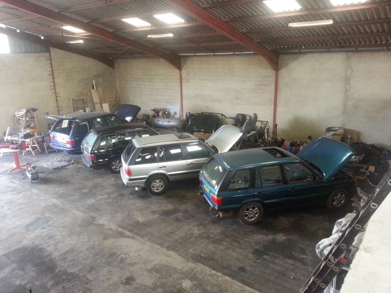 Nouveau garage Land Rover dans le 17 20140411