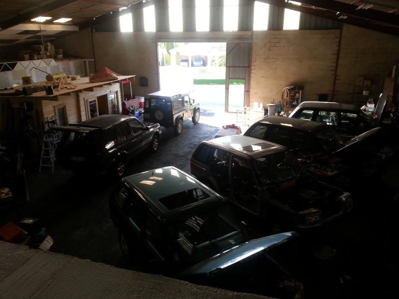 Nouveau garage Land Rover dans le 17 20140412