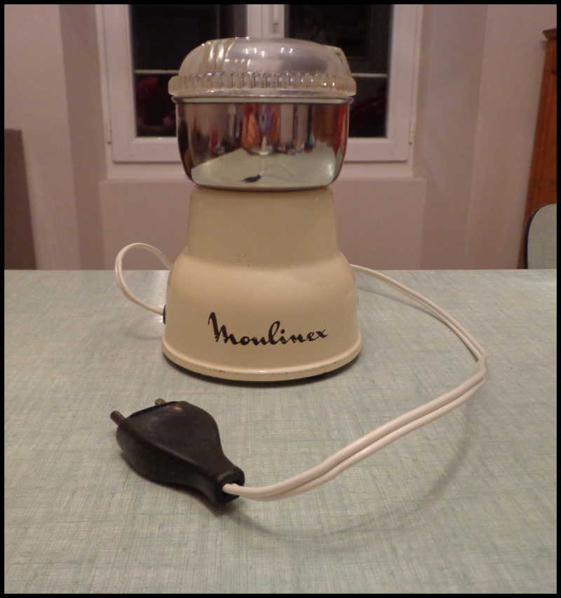 Moulin à café électrique Moulinex. Dsc02919