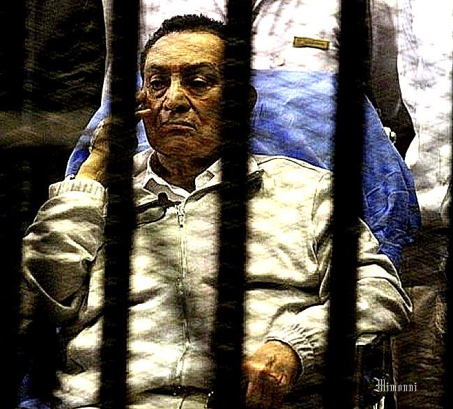 Moubarak Empereur  et moubarak prisonnier Mimoun14