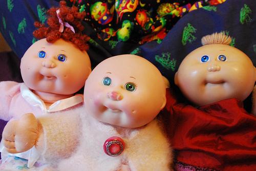 les poupée patoufs 10623110