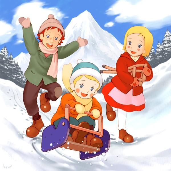 Dans les alpes avec annette Annett14