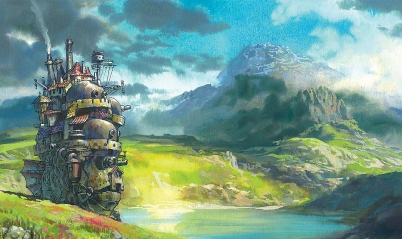 Images des dessins animés du Studio Ghibli Dessin10