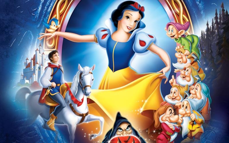Blanche Neige et les 7 nains Disney11