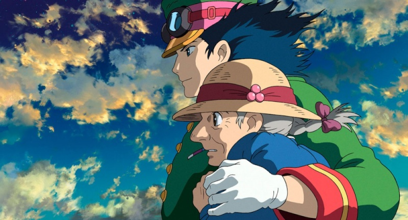 Images des dessins animés du Studio Ghibli Hauru-11